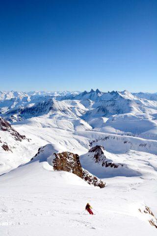 Ski de randonnée depuis Clavans le Haut