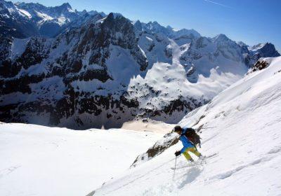 Ski de randonnée depuis le Plan du Lac