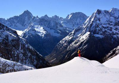 Ski de randonnée depuis Les Granges