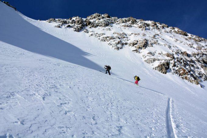 Ski de randonnée depuis Les Étages