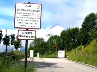 Accueil / Aire de Camping-Cars (1)