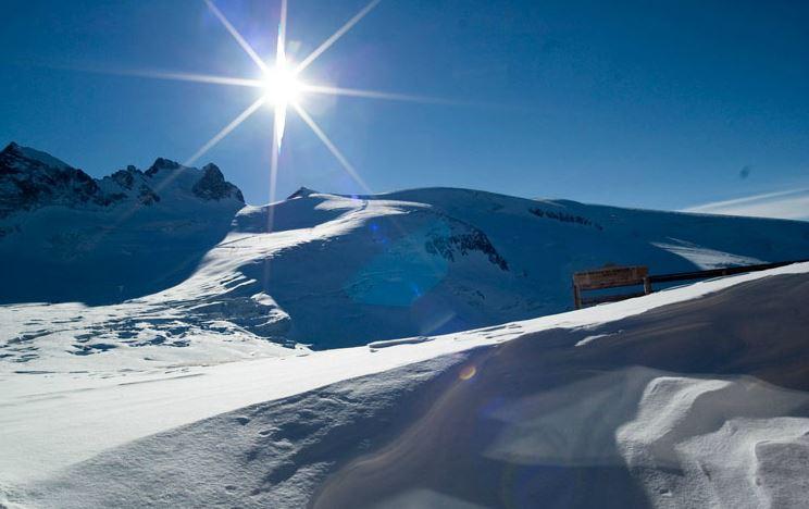 Balades sur le glacier de la Girose