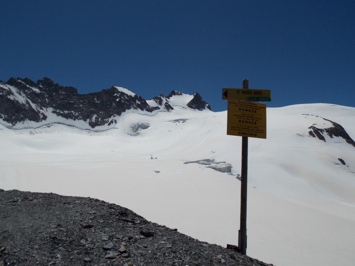 Balades sur le glacier de la Girose (3)