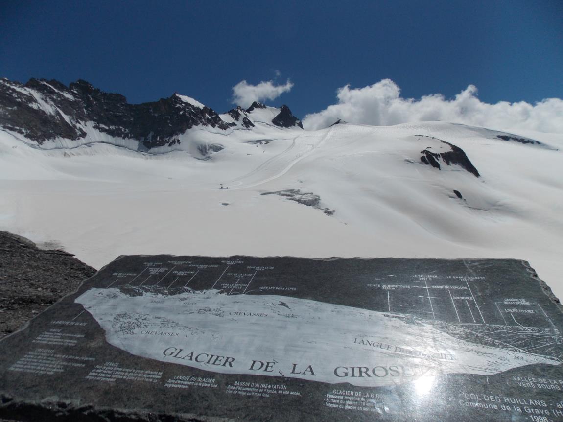 Balades sur le glacier de la Girose (4)