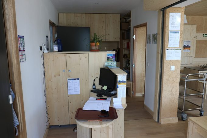 Le bureau de la gardienne