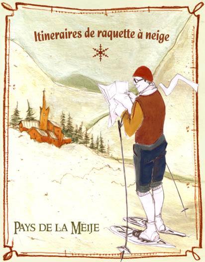Itinéraire raquettes à neige (2)