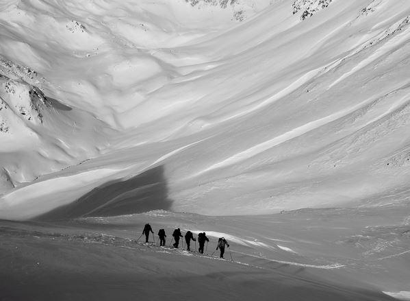 Ski de randonnée avec le Bureau des Guides (1)