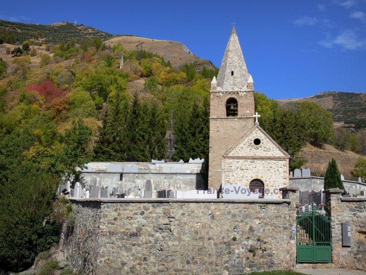 Eglise Saint-Ferréol d'Huez (1)