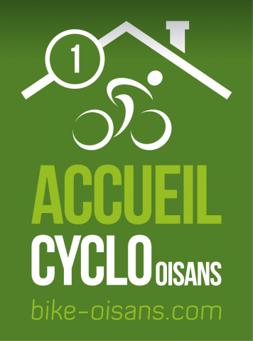 Label Accueil Cyclo Oisans – 1 vélo