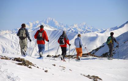 Raquettes à neige : bureau des guides & accompagnateurs