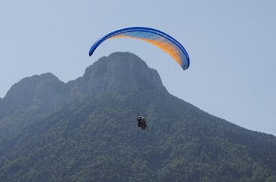 Vol en parapente – 2 Alpes Parapente