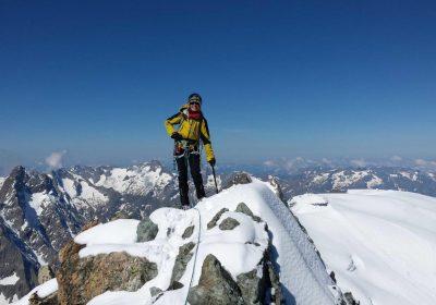 Alpinisme hivernal avec le Bureau des Guides