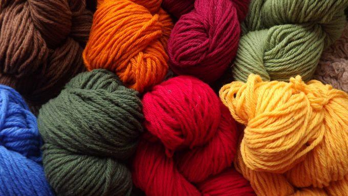 pelotes de laine merinos un fois transformées
