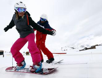 Cours de snowboard avec l'ESF (2)