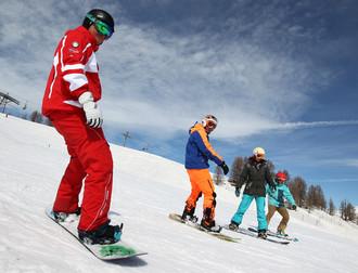 Cours de snowboard avec l'ESF (3)