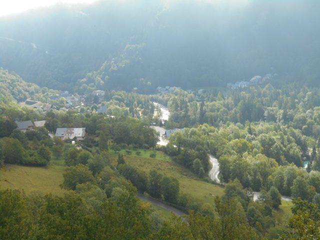 Vue sur la vallée du Vénéon