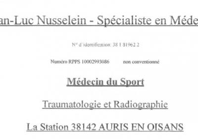 Docteur JL Nusselein