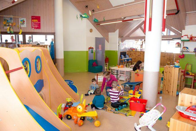 Halte-Garderie, un espace pour les enfants