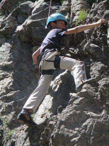 Cours d'escalade