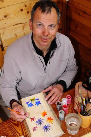 Rodolphe Candau à l'oeuvre