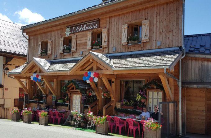 Restaurant Edelweiss été