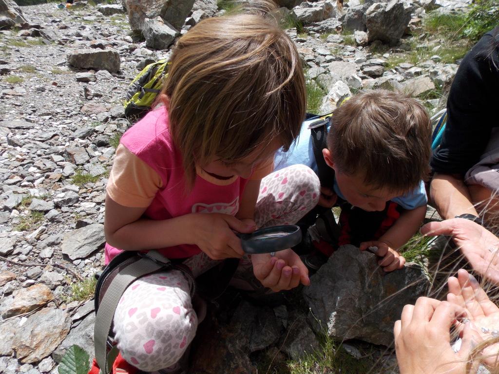 Le petit parcours des mines en via cordata, avec Odile monitrice d'escalade (8)