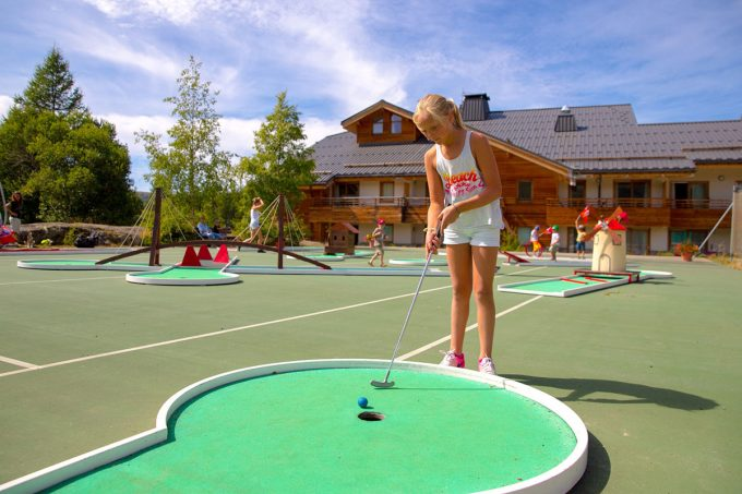 Mini golf outdoor