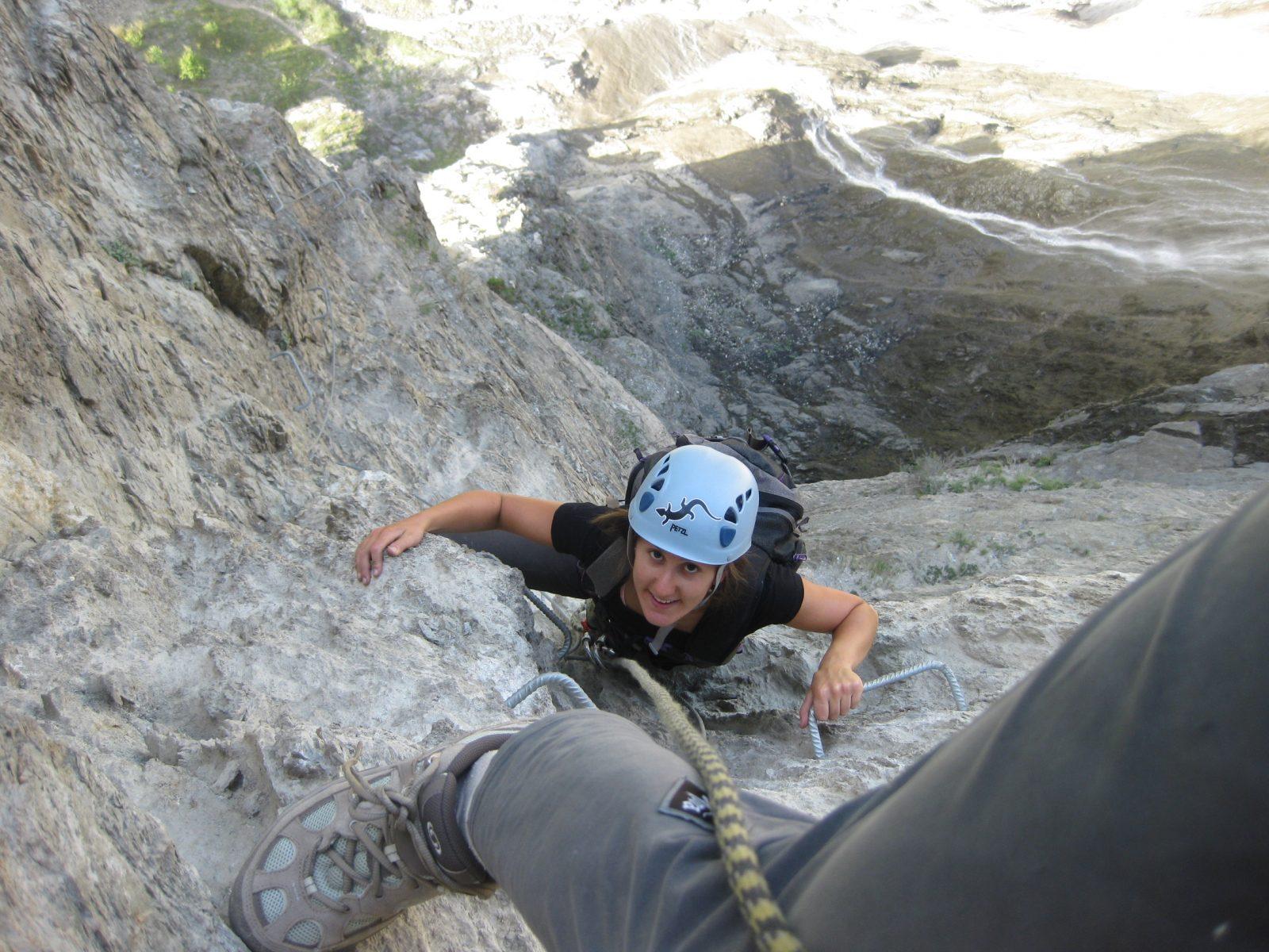 Randonnée verticale en Via Ferrata (1)