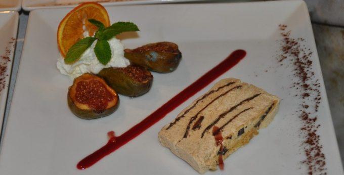 Parfait Rhum-Cannelle et figues rôties
