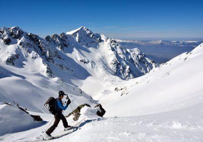 Ski de randonnée depuis le Rivier d'Allemond / Belledonne