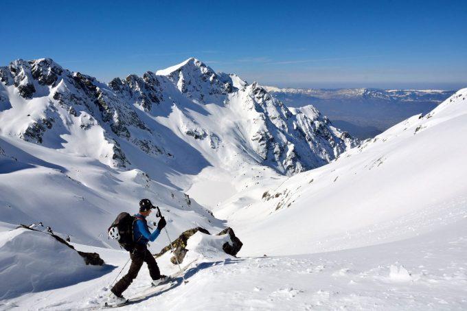 Ski de randonnée depuis le Rivier d'Allemond