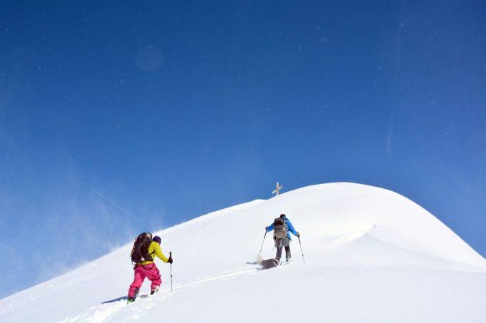 Ski de randonnée depuis La Traverse (Allemond)