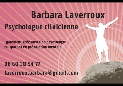 LAVERROUX Barbara – Psychologue