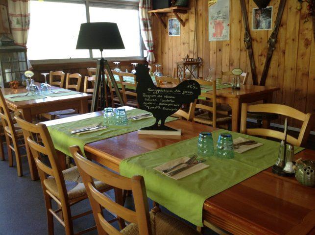 Chalet des Plagnes_Salle de restaurant