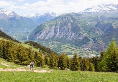 Bourg d'Oisans – Le Pré Gentil par le Col Saint Jean