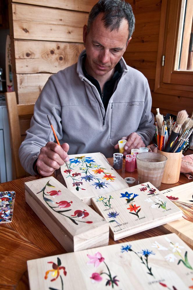 Peinture sur bois et porcelaine (1)