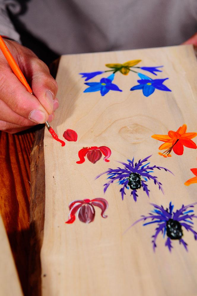 Peinture sur bois et porcelaine (3)