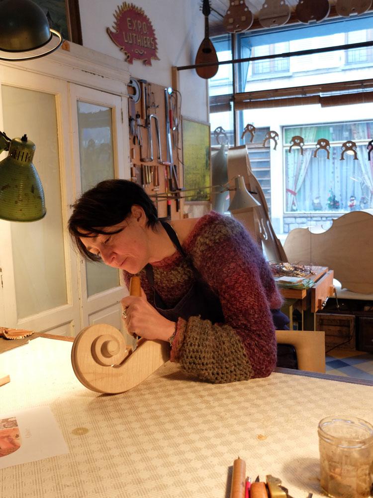 Atelier de Lutherie – Luthière