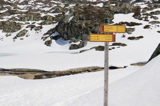 Panneaux de randonnées