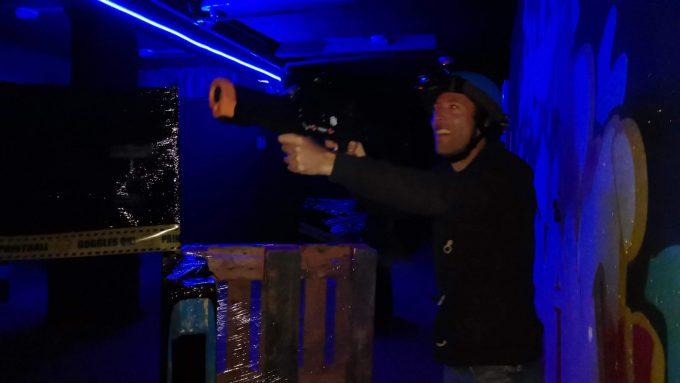 Visuel laser game auris