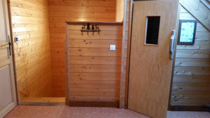 Le coin sauna