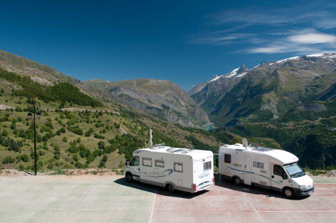 Aire de Camping-car auris en oisans