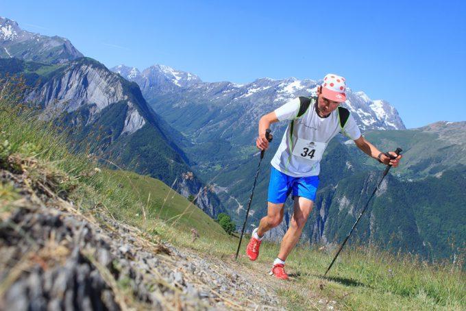 Rando trail – n°9 Noir – Le col Blanc