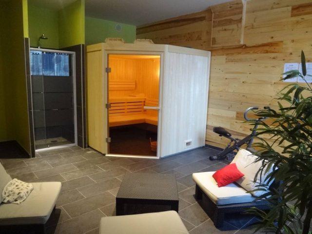 le Sauna et la salle de gym