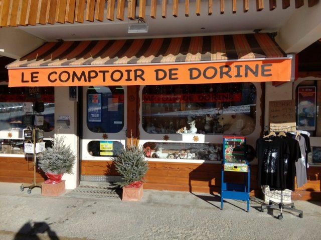 Visuel Comptoir de Dorine