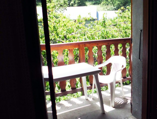 Le balcon au Chazal
