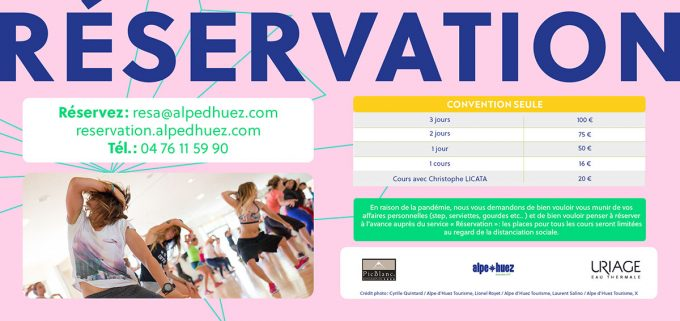 Convention Fitness – Alpe d'Huez