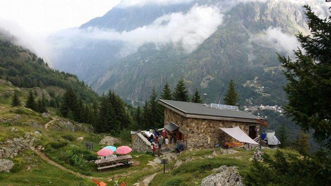 Ravitaillement à l'Alpe du Pin