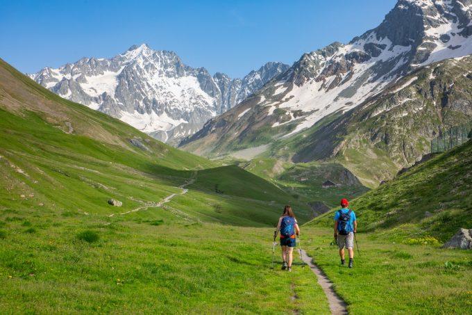Arrivée à l'Alpe de Villar d'Arène