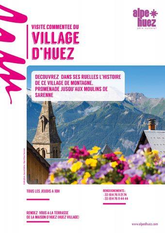 Visite commentee du village d'Huez –
